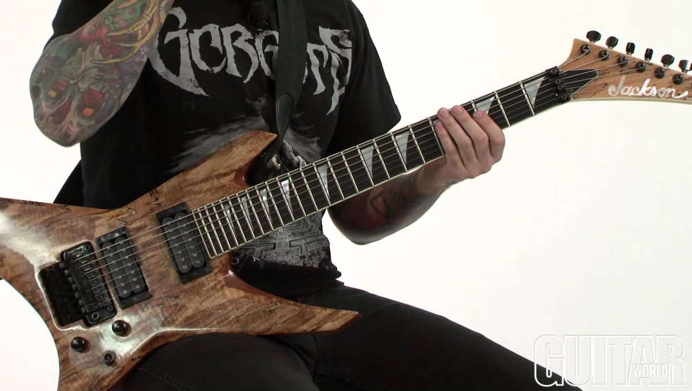"""Deathless"" - How to play the main riff"