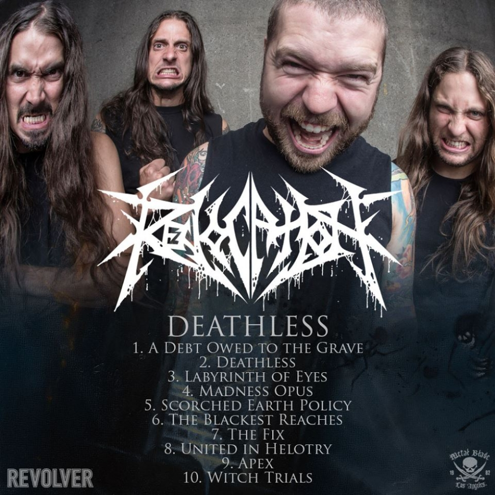 Deathless - Album streaming on Revolver mag